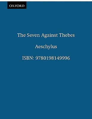 Image for Seven Against Thebes (Septem Contra Thebas) (Clarendon Paperbacks)