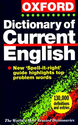 Image for The Oxford Dictionary of Current English