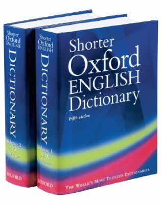 Image for SHORTER OXFORD ENGLISH DICTIONARY FIFTH EDITION