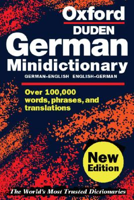 Image for Oxford German Minidictionary (Oxford Minireference)