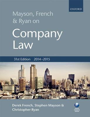 Image for Mayson, French & Ryan on Company Law