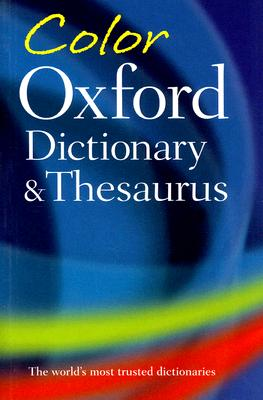 Image for Color Oxford Dictionary & Thesaurus