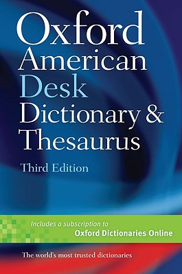 Oxford American Desk Dictionary & Thesaurus, Oxford