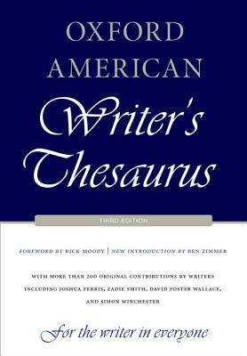 Image for Oxford American Writer's Thesaurus