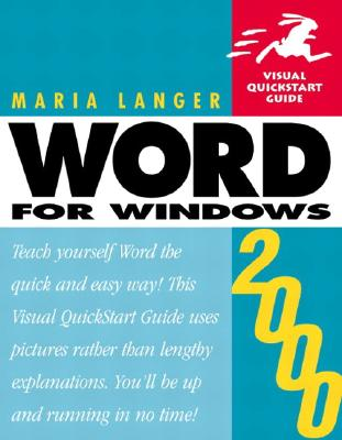 Image for Word 2000 for Windows (Visual QuickStart Guide)