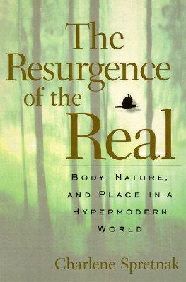 Image for The Resurgence Of The Real: Body, Nature, And Place In A Hypermodern World