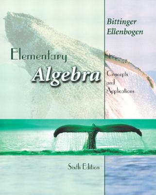 Image for Elementary Algebra: Concepts and Applications (6th Edition)