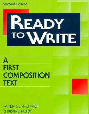 Image for Ready to Write:  A First Composition Text  (Second Edition)