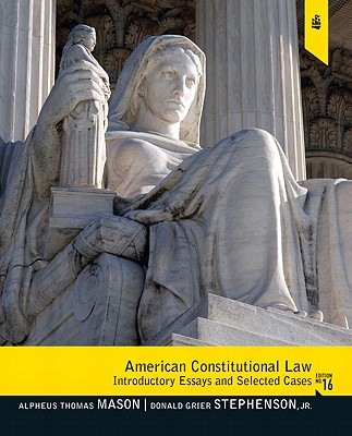 Image for American Constitutional Law: Introductory Essays and Selected Cases (16th Edition)