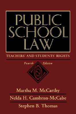 Image for Public School Law: Teachers' and Students' Rights (4th Edition)