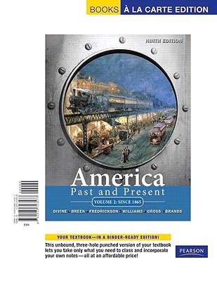 Image for America Past and Present: Since 1865: 2