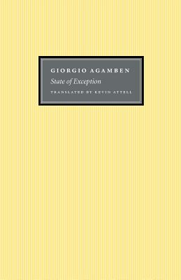 Image for State of Exception (First Edition)