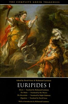 "Image for ""Euripides I: Alcestis, The Medea, The Heracleidae, Hippolytus (The Complete Greek Tragedies) (Vol 3)"""