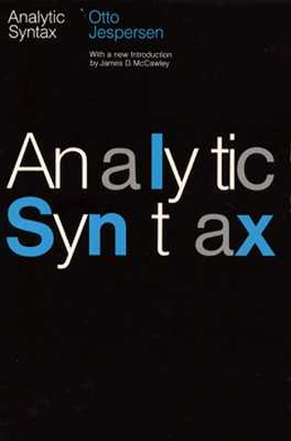 Image for Analytic Syntax