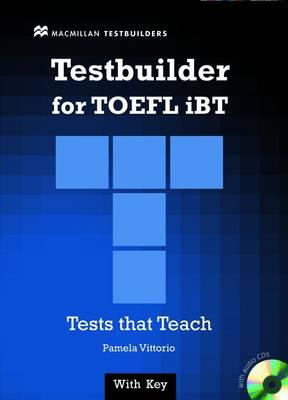 Image for Testbuilder for TOEFL iBT with Audio CDs  Tests that Teach