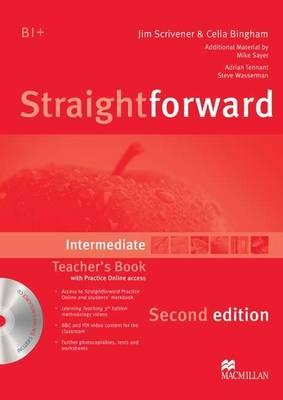 Straightforward Intermediate Teacher's Book Pack, Kerr, Philip,  Norris, Roy,  Clandfield, Lindsay,  Jones, Ceri,  Scrivener, Jim