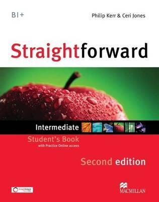 Image for Straightforward Intermediate Student's Book + Webcode