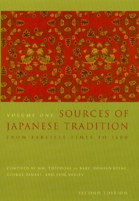 Image for Sources of Japanese Tradition, Vol. 1 and 2