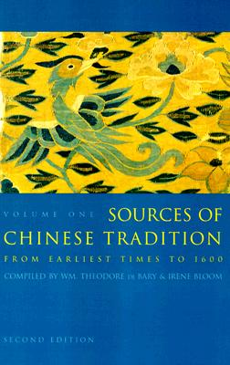 Image for Sources of Chinese Tradition, Vol. 1