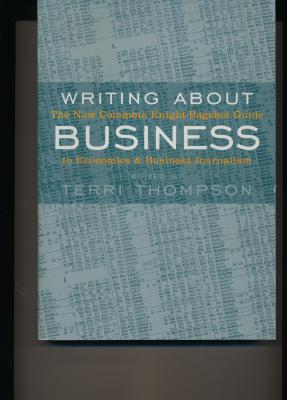 Image for Writing About Business
