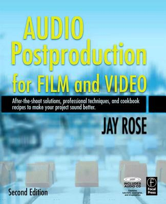 Image for Audio Postproduction for Film and Video, Second Edition