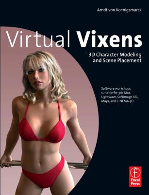 Virtual Vixens: 3D Character Modeling and Scene Placement