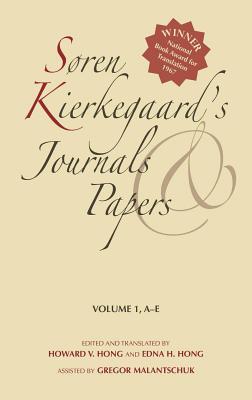 S�ren Kierkegaard?s Journals and Papers, Volume 1: A-E, Kierkegaard, S�ren