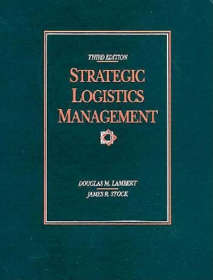Image for Strategic Logistics Management (Irwin Series in Marketing)