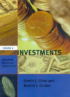 Image for Investments, Vol. 2: Securities Prices and Performance