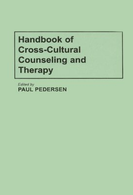 Image for Handbook of Cross-Cultural Counseling and Therapy