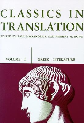 Image for Classics in Translation, Volume I: Greek Literature