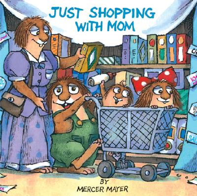 Image for Just Shopping with Mom (A Golden Look-Look Book)