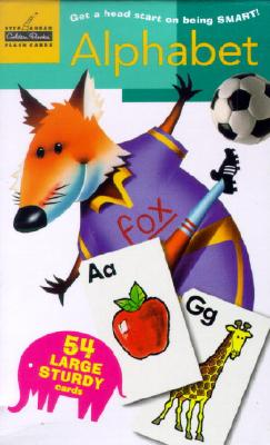 Alphabet: Flash Cards (Pack of 54), Golden Books