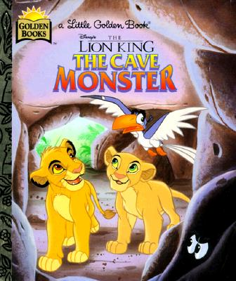 Image for The Cave Monster (Little Golden Book)