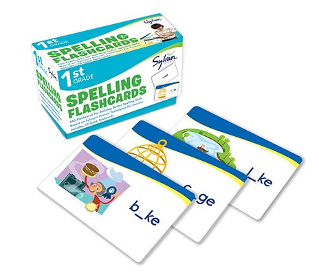 1st Grade Spelling Flashcards: 240 Flashcards for Building Better Spelling Skills Based on Sylvan's Proven Techniques for Success (Sylvan Language Arts Flashcards), Sylvan Learning