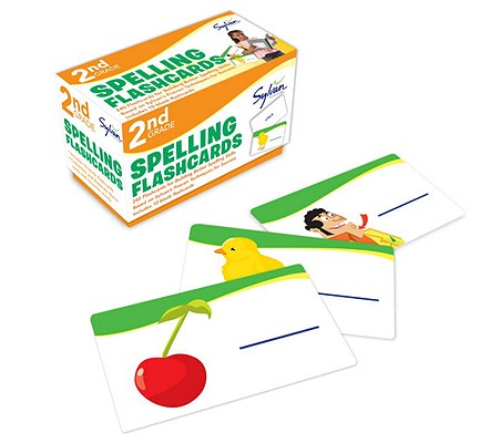 2nd Grade Spelling Flashcards: 240 Flashcards for Building Better Spelling Skills Based on Sylvan's Proven Techniques for Success (Sylvan Language Arts Flashcards), Sylvan Learning