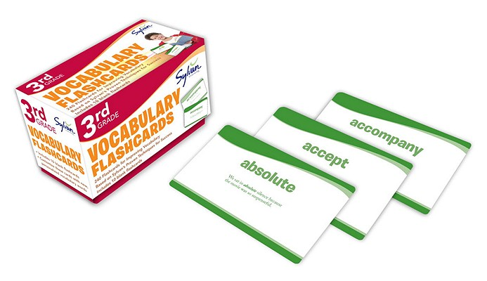 3rd Grade Vocabulary Flashcards: 240 Flashcards for Improving Vocabulary Based on Sylvan's Proven Techniques for Success (Sylvan Language Arts Flashcards), Sylvan Learning