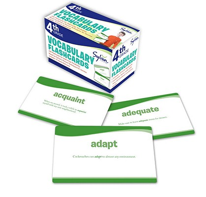 4th Grade Vocabulary Flashcards: 240 Flashcards for Improving Vocabulary Based on Sylvan's Proven Techniques for Success (Sylvan Language Arts Flashcards), Sylvan Learning