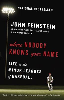 Image for Where Nobody Knows Your Name: Life in the Minor Leagues of Baseball (Anchor Sports)