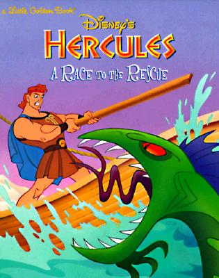 Image for Disney's Hercules: A Race to the Rescue (Little Golden Book)