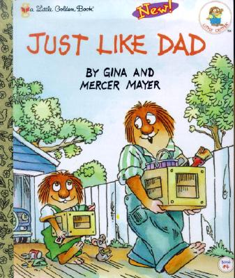 Image for Just Like Dad (Little Golden Book)