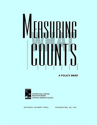 Image for Measuring What Counts: A Policy Brief