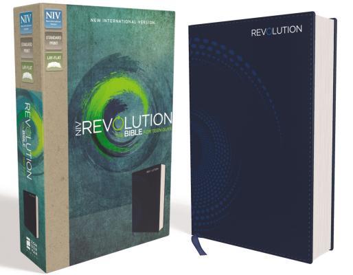 Image for NIV Revolution Bible LS Blue