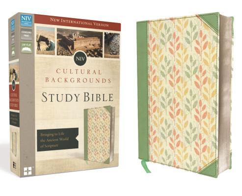 Image for NIV, Cultural Backgrounds Study Bible (Sage/Leaves)