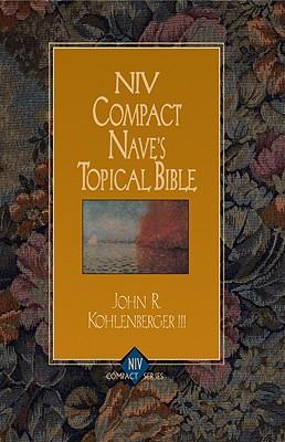 Image for NIV Compact Nave's Topical Bible (NIV Compact Series)