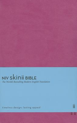 Image for NIV Skinii Bible (Pink Italian Duo-Tone)