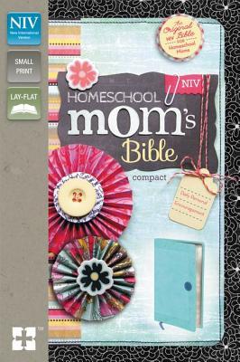 "Image for ""Compact Homeschool Moms Bible (NIV, TurquoiseBlueberry Italian Duo-Tone)"""