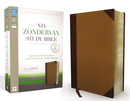 Image for NIV Zondervan Study Bible (ChocolateCaramel Italian Duo-Tone)