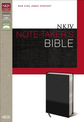 "Image for ""NKJV, Note-Takers Bible, Imitation Leather, Gray, Red Letter Edition"""