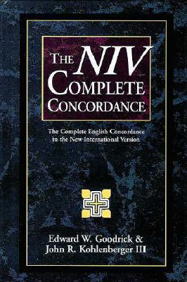 Image for The NIV Complete Concordance